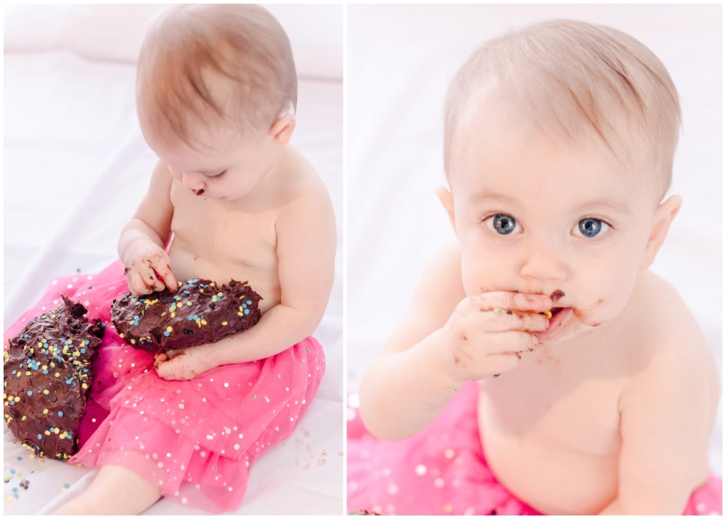 Alexandra Michelle Photography - Cora Cake Smash-47