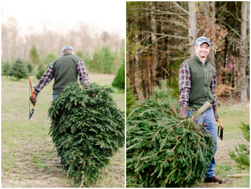 Alexandra Michelle Photography - First Christmas Tree-7