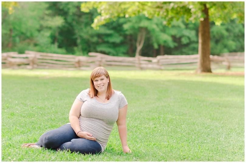 Alexandra Michelle Photography - Milestone 1 -Crump Park - Maternity Deihr-23