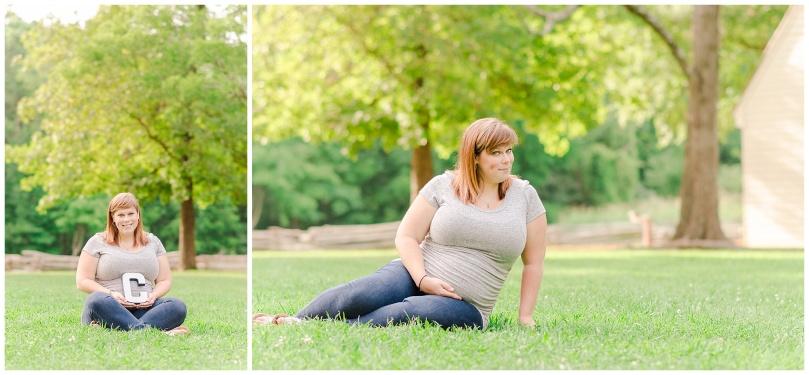 Alexandra Michelle Photography - Milestone 1 -Crump Park - Maternity Deihr-35