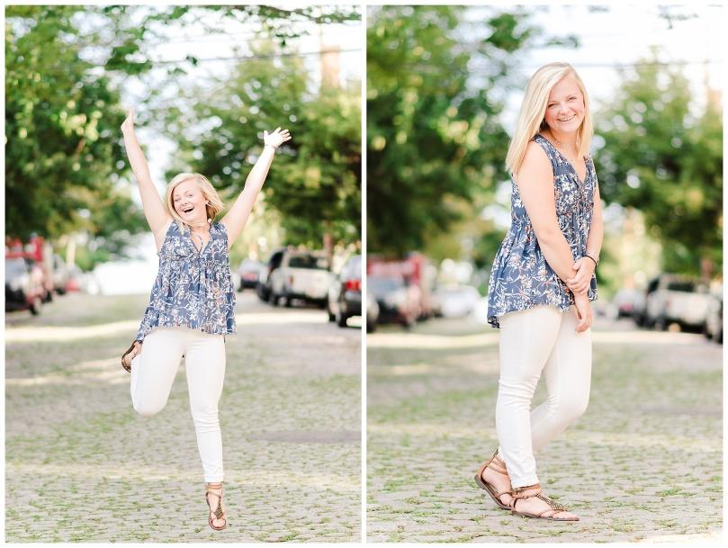 Alexandra Michelle Photography - Richmond Virginia - Church Hill - August 2018 - Senior Portraits - Malone McGhee-37